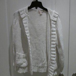 Michael Kors Knit Hooded Cardigan